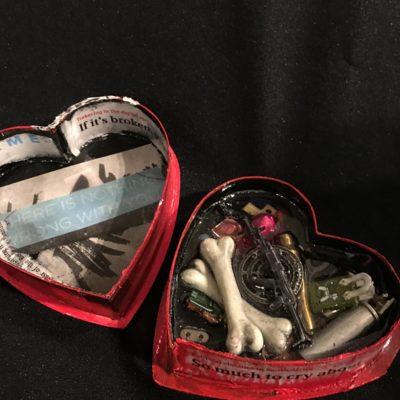 Heart Shaped Box- Bitter Pill