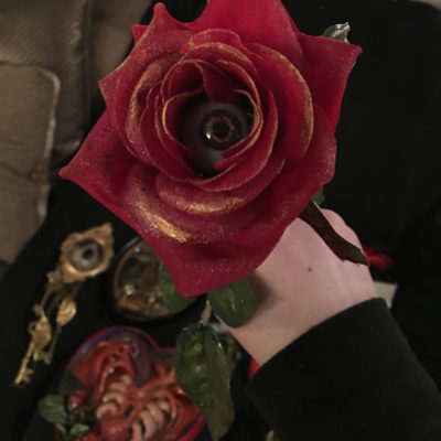 Stem Rose- RED, I Only Have Eyes For You